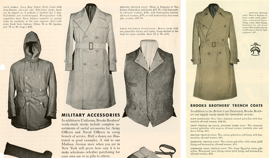 c61201f677e5 The unbeatable versatility of the trench coat meant the design remained  popular after the Great War was over